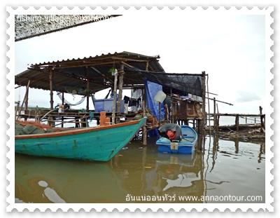 เรือของหมู่บ้านชาวประมง