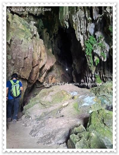 เดินเข้าถ้ำนกแอ่น