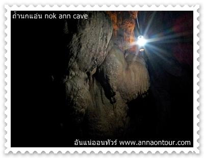 ชมหินงอกในถ้ำนกแอ่น
