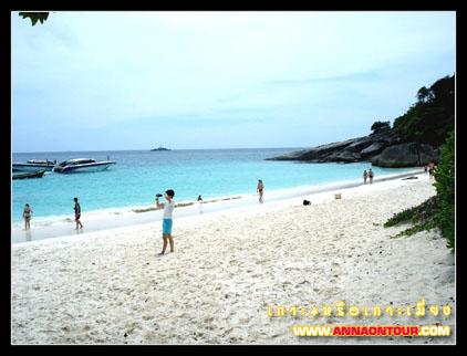 ทรายขาว ๆ ที่เกาะ 4