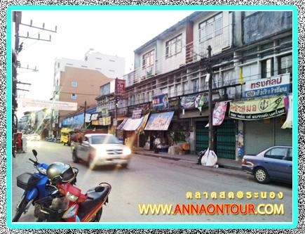 ถนนหน้าตลาดสดเทศบาลระนอง
