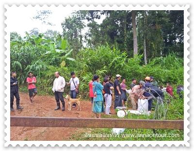 ตลาดการค้าชายแดนไทยพม่าที่สวนผึ้ง