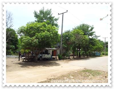เส้นทางในหมู่บ้านกเหรี่ยง